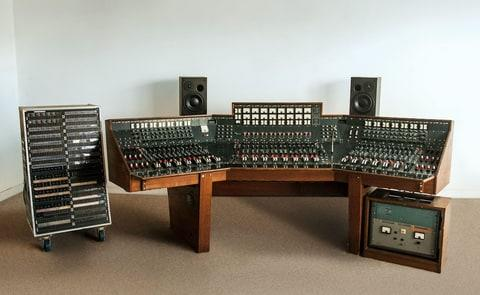 Auction of 'The Dark Side Of The Moon' recording console, New York, USA - 01 Mar 2017