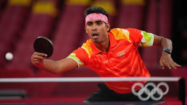 In table tennis, Achanta Sharath Kamal beat Portugal's Tiago Apolonia by four games to two, to reach the third round of the men's singles competition. Sharath will face China's Ma Long in the third round on Tuesday. AP