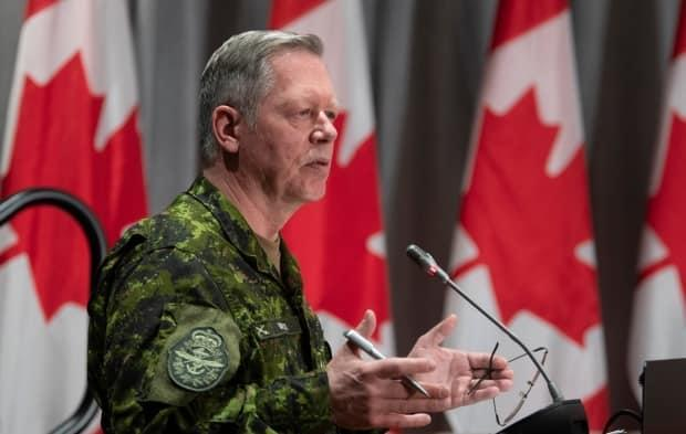 Then-chief of the defence staff Gen. Jonathan Vance in May, 2020 in Ottawa.