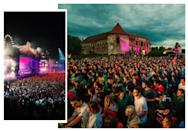 "<p>They come to Cluj-Napoca for the festivals: <a href=""http://tiff.ro/"" rel=""nofollow noopener"" target=""_blank"" data-ylk=""slk:TIFF"" class=""link rapid-noclick-resp"">TIFF</a> (Transilvania International Film Festival), <a href=""http://jazzinthepark.ro/"" rel=""nofollow noopener"" target=""_blank"" data-ylk=""slk:Jazz in the Park"" class=""link rapid-noclick-resp"">Jazz in the Park</a> which takes places in the Central Park (there are hammocks by the way), Delahoya (known as the one of the best Romanian electronic music festivals), Comedy Cluj (International Film Festival), and my favourite music festivals (which I'm gonna tell you more about soon) are Electric Castle Festival (takes place on the spectacular Transylvanian domain of the Bánffy Castle, near Cluj-Napoca) and Untold Festival (the largest annual electronic music festival, taking place in different locations across town). [Photo credit: Christian Vadan
