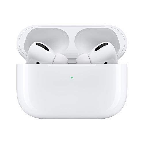 """<p><strong>Apple</strong></p><p>amazon.com</p><p><strong>$197.00</strong></p><p><a href=""""https://www.amazon.com/dp/B07ZPC9QD4?tag=syn-yahoo-20&ascsubtag=%5Bartid%7C10055.g.37348516%5Bsrc%7Cyahoo-us"""" rel=""""nofollow noopener"""" target=""""_blank"""" data-ylk=""""slk:Shop Now"""" class=""""link rapid-noclick-resp"""">Shop Now</a></p><p>Upgraded to include a noise cancellation feature, AirPods Pro are the latest model of the earphone series. Equipped with a charging case that delivers more than 24 hours of battery life, these are well worth the splurge if you're always on the go.</p>"""