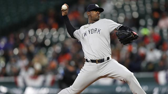 Dave Righetti, Mariano Rivera, Dellin Betances . . . Luis Severino? The next great Yankees reliever is right in front of them.