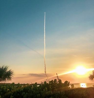 Ascent Abort-2 lifts off from Space Launch Complex 46.