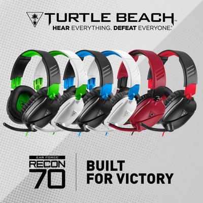 The Turtle Beach Recon 70 redefines entry-level gaming audio on mobile devices, PCs and consoles.