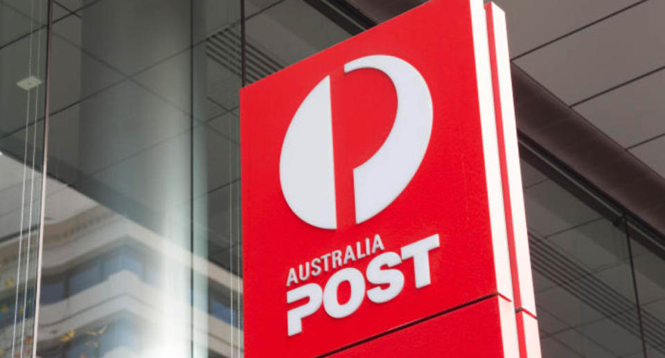 An Australia Post sign. Source: Getty Images