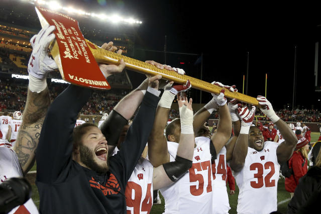 Wisconsin is the only undefeated team left in College Football Playoff contention, but are they deserving of a berth? (AP)