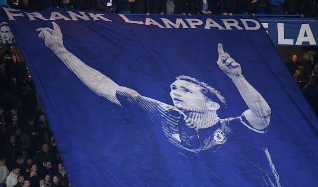 Lampard is a hero among Chelsea's fans. (Credit: Getty Images)