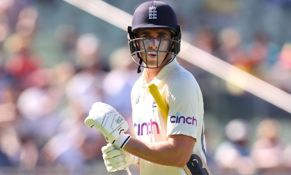 Dan Lawrence, the least experienced batsman in England's top six for the Test against New Zealand, handled the occasion the best.