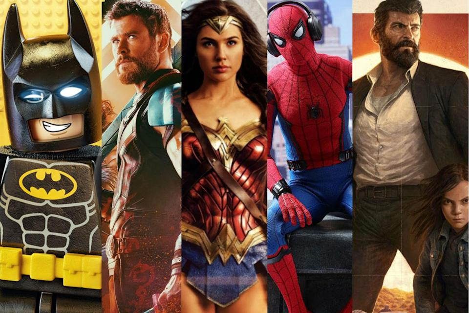 How well were you paying attention to the superhero movies of 2017? (Sony, Fox, Warner Bros., Disney)