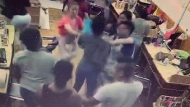 Huge Brawl Breaks Out at New York Nail Salon After Customer Refuses to Pay After She Complains About Service