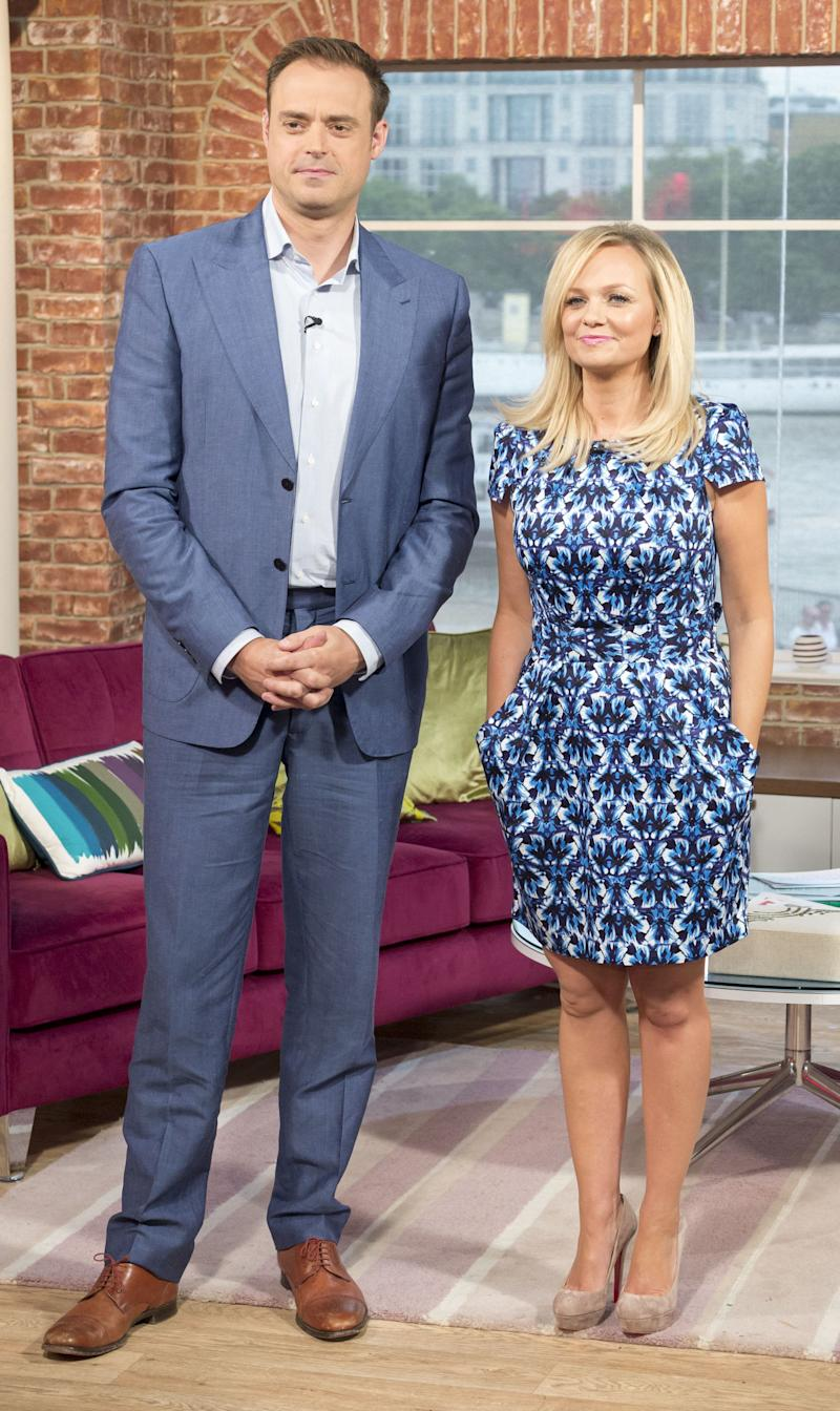 The former 'Live And Kicking' presenter hadn't been seen on screens for a while when he hosted some shows with Emma Bunton over the summer of 2013. But the pairing proved successful, as the Spice Girl was later hired to co-host his Heart radio breakfast show.