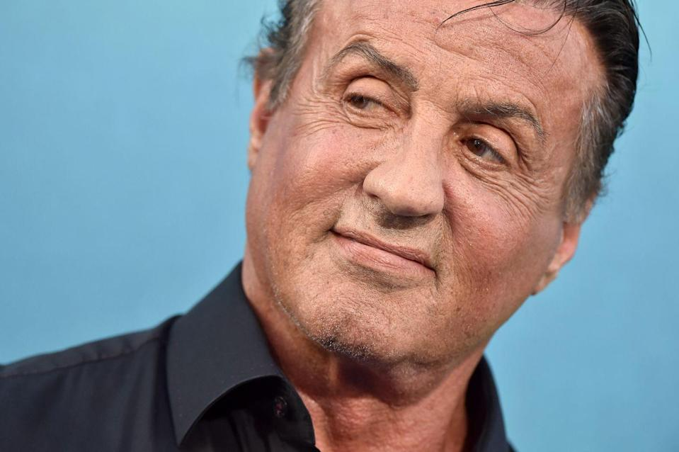 """<p>The Rocky star is still in fighting shape. Just look at him <a href=""""https://www.menshealth.com/fitness/a20138742/sylvester-stallone-age-workout-instagram/"""" rel=""""nofollow noopener"""" target=""""_blank"""" data-ylk=""""slk:crushing his workouts"""" class=""""link rapid-noclick-resp"""">crushing his workouts</a>.</p>"""