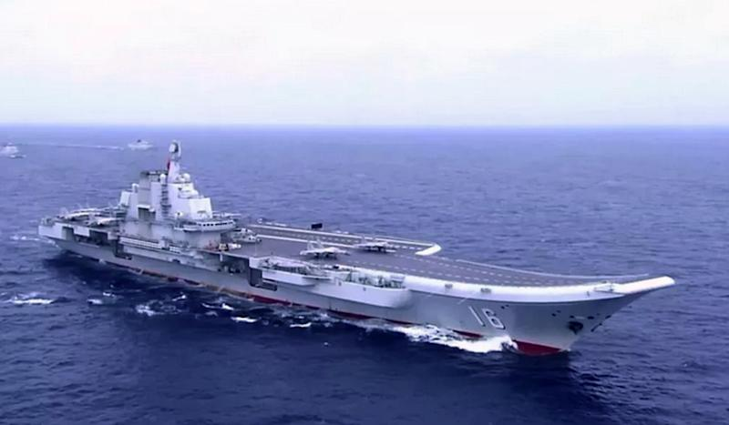 Details of new Chinese aircraft carrier revealed in sea trial footage aired on state TV