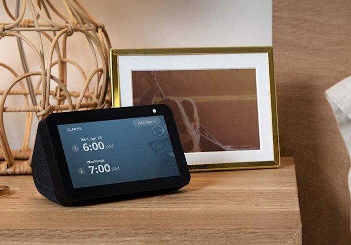 Get the Echo Show 5 for 44 percent off. (Photo: Amazon)