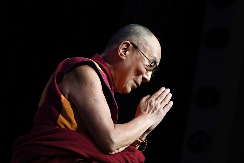 The Dalai Lama says he has 'recovered very well' and thanked everyone for their concern (AFP Photo/Eric FEFERBERG)