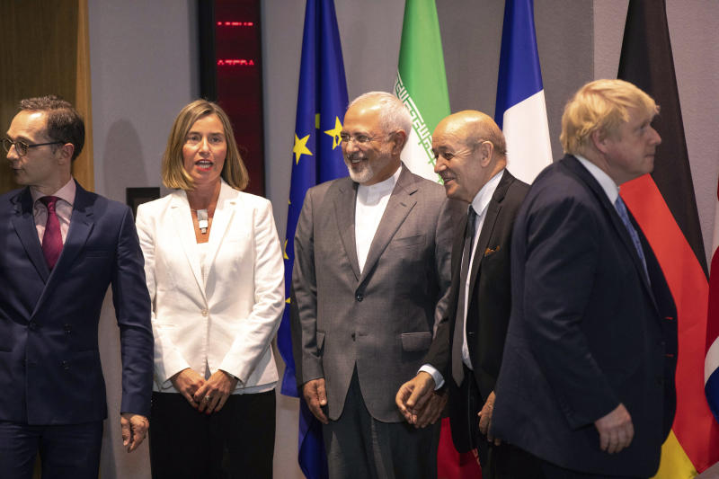 EU official insists nuclear deal with Iran must prevail