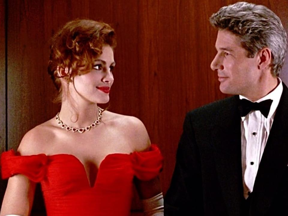 Julia Roberts played the 'hooker with a heart of gold' tropeRex