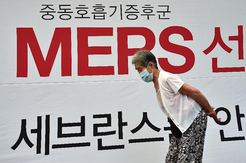 South Korea is currently battling with an outbreak of the MERS, which has killed 24 people while 166 cases have been confirmed -- the largest outbreak of the disease outside Saudi Arabia (AFP Photo/Jung Yeon-Je)