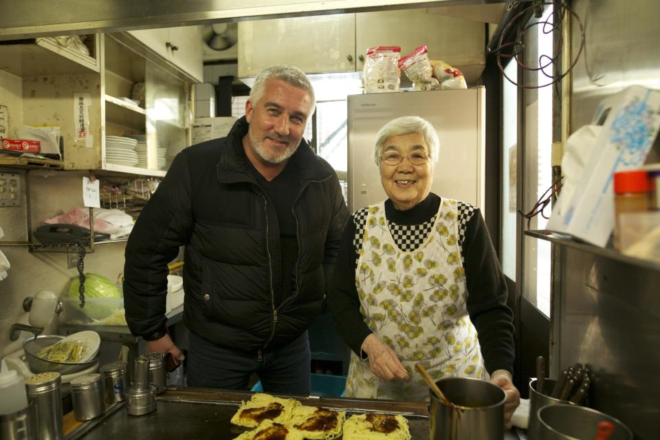 Paul Hollywood didn't think they baked in Japan. (Channel 4)