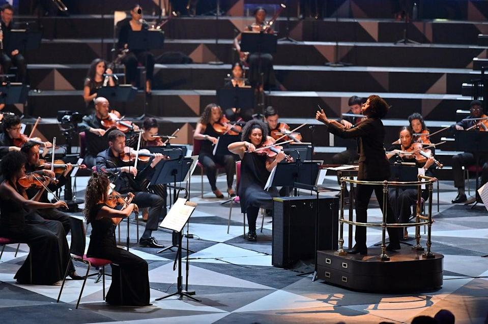 Conductor Kalena Bovell captured the varied moods in the music (Mark Allan)