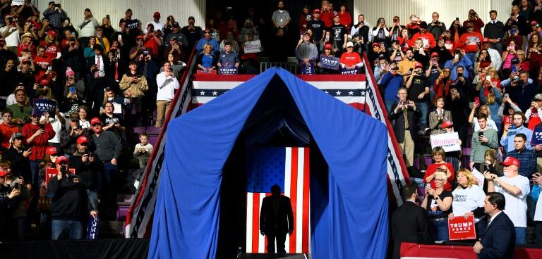 One of US President Donald Trump's last rallies was in Colorado Springs, Colorado, on February 20, 2020