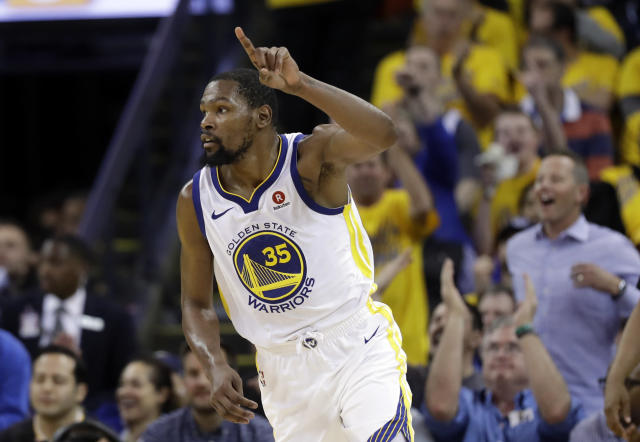 Warriors GM Bob Myers on new Kevin Durant contract: 'Whatever deal he wants'