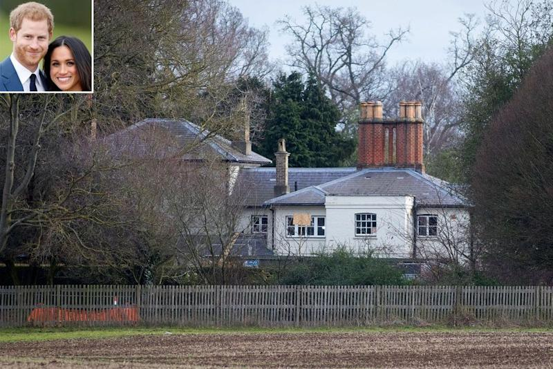 Frogmore Cottage | Shutterstock. Inset: Max Mumby/Indigo/Getty
