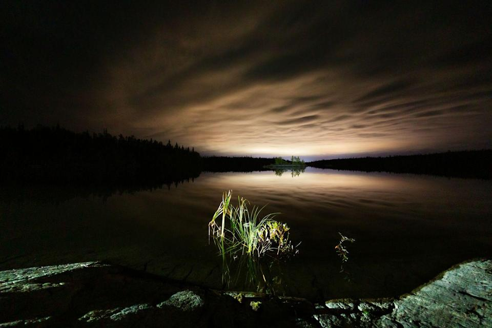 """<p>There's apparently a scary monster living in the depth of Utah's Bear Lake, and <a href=""""https://www.onlyinyourstate.com/utah/ut-urban-legends/"""" rel=""""nofollow noopener"""" target=""""_blank"""" data-ylk=""""slk:stories of the famed aquatic creature"""" class=""""link rapid-noclick-resp"""">stories of the famed aquatic creature</a> date back to the mid-1800s. Described by locals as a serpent-like creature, the legend seemingly appears to be America's very own Loch Ness monster. Would rumors of the supposed monster stop you from swimming in the lake?</p>"""