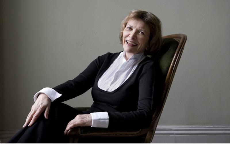 Dame Joan Bakewell will air her own play about her affair with Harold Pinter - Rex Features