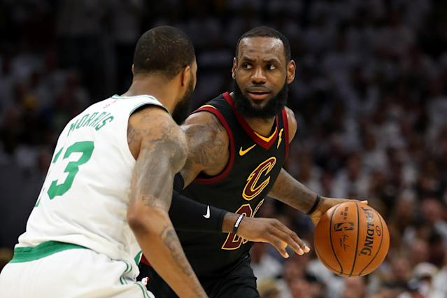 LeBron James liked what he got a look at in Game 6, and now we're going to a winner-take-all Game 7. (Getty)
