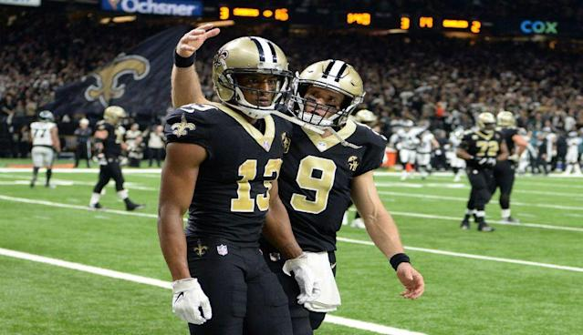 Michael Thomas sets NFL record for receptions after ten games