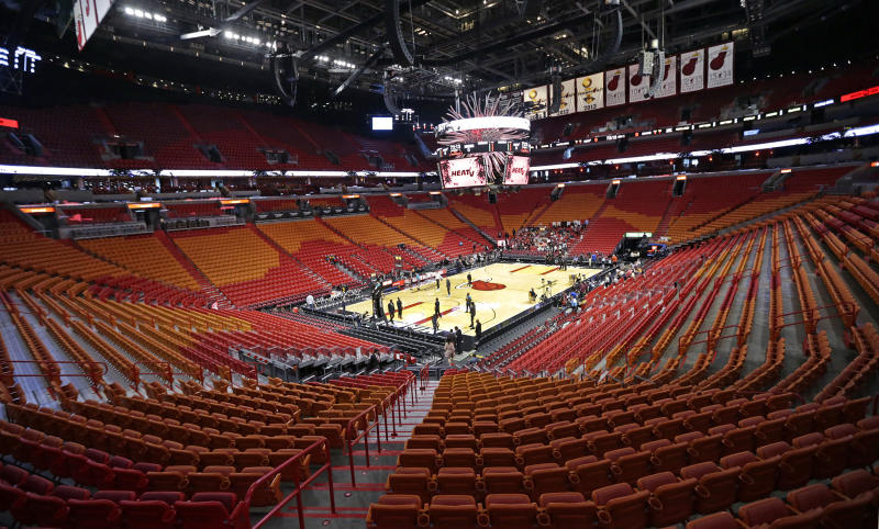 The Heat shut down their practice facility on Friday after a second player in the organization tested positive for the coronavirus.