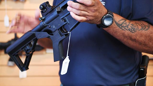 WASHINGTON — A gunman slaughtered 58 people and wounded hundreds more in Las Vegas last week, but the ensuing policy debate has so far focused almost entirely around pieces of plastic on the non-shooting end of the perpetrator's rifles.