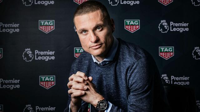 While praising Victor Lindelof's form, Nemanja Vidic said Manchester United's defenders are as good as Virgil van Dijk.