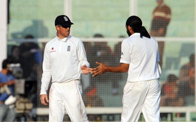 Graeme Swann, left, and Monty Panesar left India in a spin