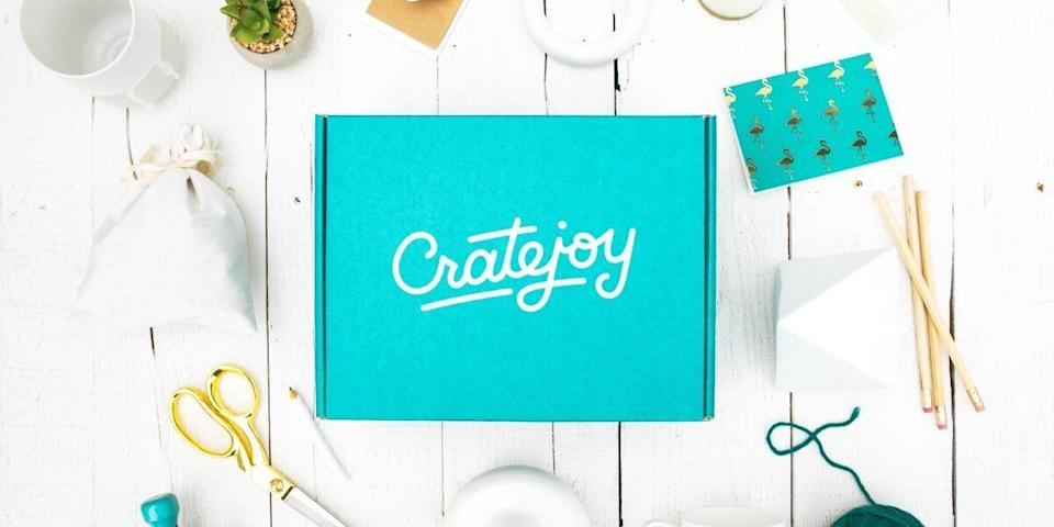 "<a href=""https://fave.co/2Q1Yyx7"" target=""_blank"" rel=""noopener noreferrer"">CrateJoy</a> carries hundreds of niche subscription boxes ranging from fitness to gaming that are sure to surprise and delight anyone on your list with something they've never seen before. <a href=""https://fave.co/2Q1Yyx7"" target=""_blank"" rel=""noopener noreferrer"">Check out CrateJoy's full lineup of subscription boxes</a>."