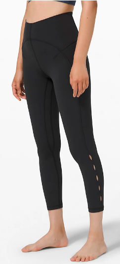 "Unlimit High-Rise Tight 25"" Keyhole (Photo via Lululemon)"