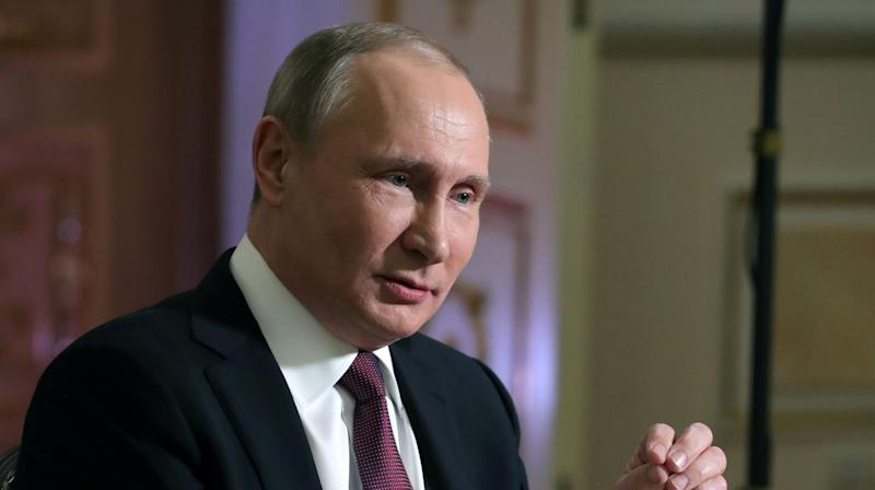Vladimir Putin Blames U.S. Election Interference On 'Jews,' Ukrainians