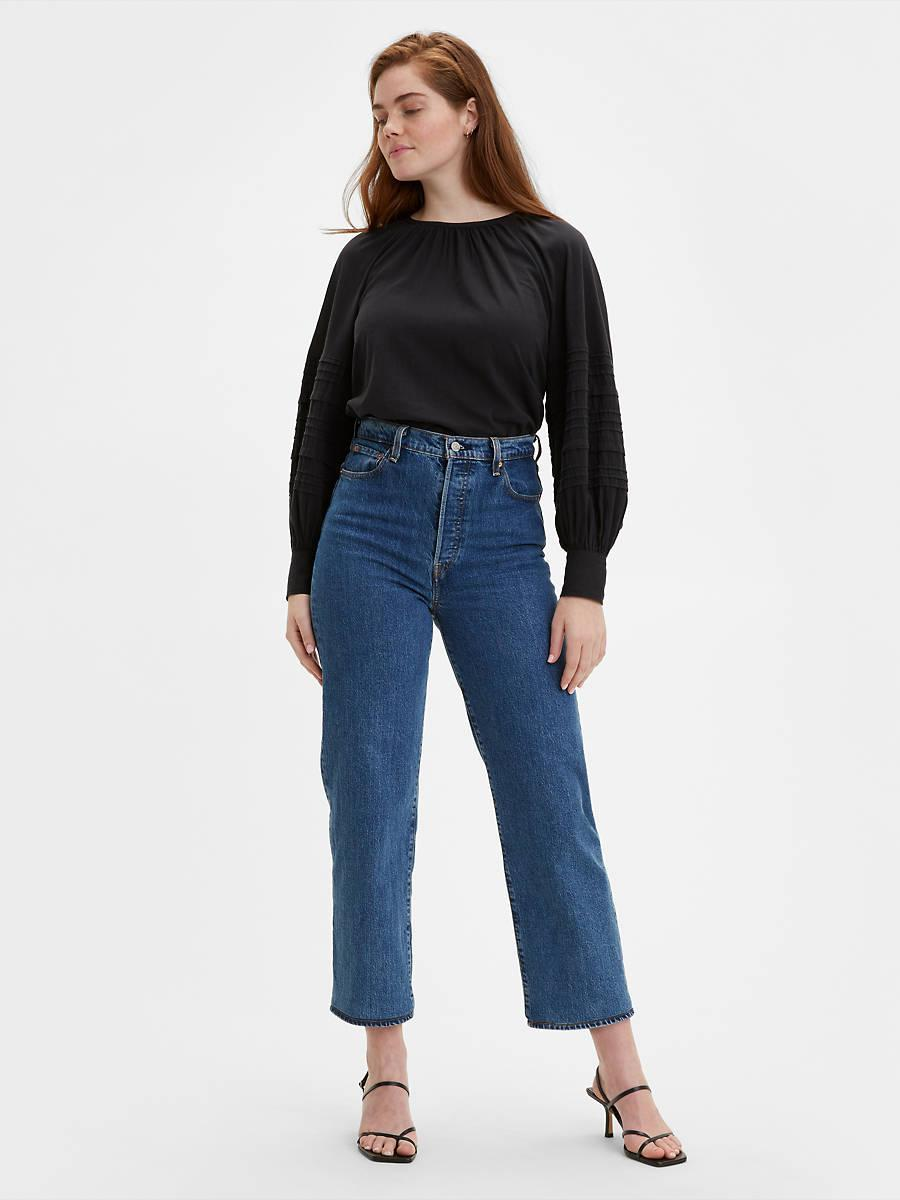 """<h2>Levi's Ribcage Straight Ankle Jeans</h2><br><em><strong>The Everyday Jeans</strong></em><br><br>The Ribcage Jean is Levi's highest high rise of them all. The 12-inch rise makes for a waist-defining fit with leg-lengthening powers you'll want to wear on repeat. <br><br><strong>The Hype: </strong>4.3 out of 5 stars; 106 reviews on levi.com<br><br><strong>What They're Saying</strong>: """"I am in love with my new Ribcage Jeans! I have been looking for something other than skinny's and these are perfect. The high rise accentuates my curves in all the right ways! And the color Georgie is the perfect classic denim look I was going for! This is so my new everyday jean!!!"""" — Bella42678480, levi.com reviewer<br><br><em>Shop <strong><a href=""""https://www.levi.com/US/en_US/apparel/clothing/bottoms/ribcage-straight-ankle-womens-jeans/p/726930011"""" rel=""""nofollow noopener"""" target=""""_blank"""" data-ylk=""""slk:levi.com"""" class=""""link rapid-noclick-resp"""">levi.com</a></strong></em><br><br><br><br><strong>Levi's</strong> Ribcage Straight Ankle Jeans, $, available at <a href=""""https://go.skimresources.com/?id=30283X879131&url=https%3A%2F%2Fwww.levi.com%2FUS%2Fen_US%2Fapparel%2Fclothing%2Fbottoms%2Fribcage-straight-ankle-womens-jeans%2Fp%2F726930011"""" rel=""""nofollow noopener"""" target=""""_blank"""" data-ylk=""""slk:Levi's"""" class=""""link rapid-noclick-resp"""">Levi's</a>"""