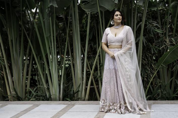 Delhi-based influencer Sakshi Sindwani (pictured here) believes that body positivity means constantly working on your body, and being comfortable in your own skin. (Image courtesy: Sakshi Sindwani)