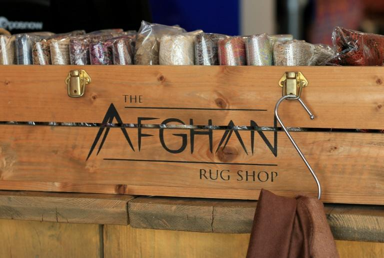 Textiles are by far the most significant Afghan import to the UK, worth some £2.4 million ($3.3 million, 2.8 million euros) per year, government figures show