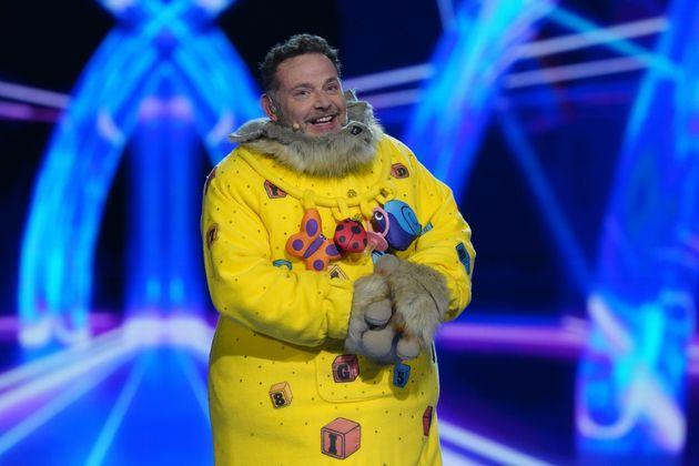 John Thomson has admitted filming The Masked Singer was