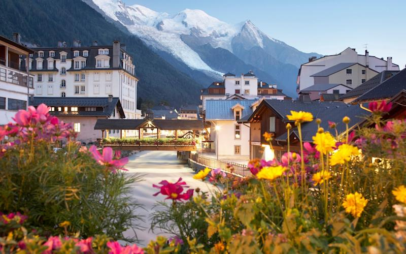 Russian spies are alleged to have used the resort of Chamonix in the French Alps as a