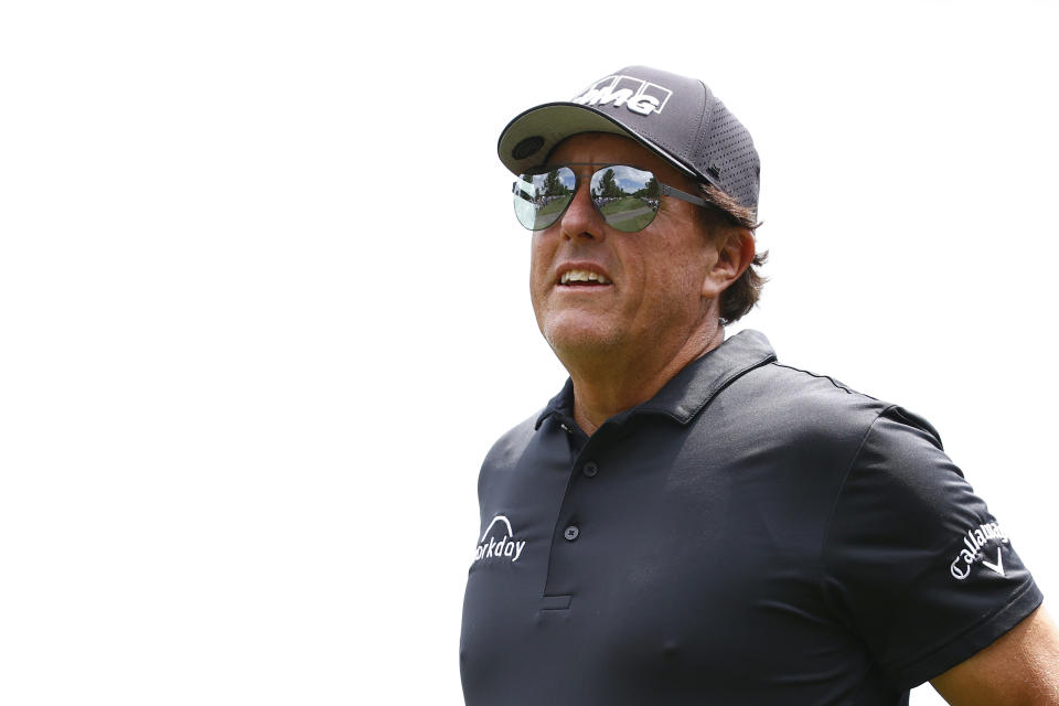 Phil's headed back to the U.S. Open. (Jared C. Tilton/Getty Images)