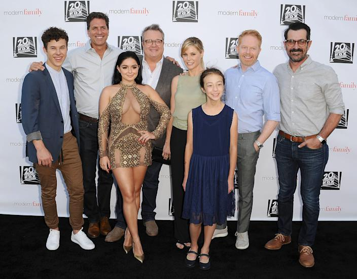 "The cast of ""Modern Family"" at a 2017 screening and panel event."