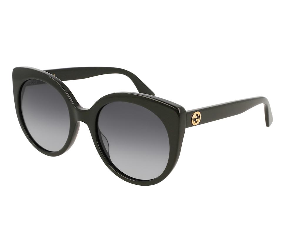 Gucci 55mm Gradient Cat Eye Sunglasses. Image via Nordstrom.