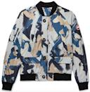 """<p><strong>Canada Goose</strong></p><p>mrporter.com</p><p><strong>$525.00</strong></p><p><a href=""""https://go.redirectingat.com?id=74968X1596630&url=https%3A%2F%2Fwww.mrporter.com%2Fen-us%2Fmens%2Fproduct%2Fcanada-goose%2Fclothing%2Fdown-jackets%2Ffaber-camouflage-print-dura-force-light-bomber-jacket%2F22831760543046466&sref=https%3A%2F%2Fwww.esquire.com%2Fstyle%2Fnews%2Fg2932%2F10-best-bomber-jackets-for-fall%2F"""" rel=""""nofollow noopener"""" target=""""_blank"""" data-ylk=""""slk:Buy"""" class=""""link rapid-noclick-resp"""">Buy</a></p><p>An enviable piece of lightweight outerwear from the brand behind your favorite heavy-duty go-to. </p>"""