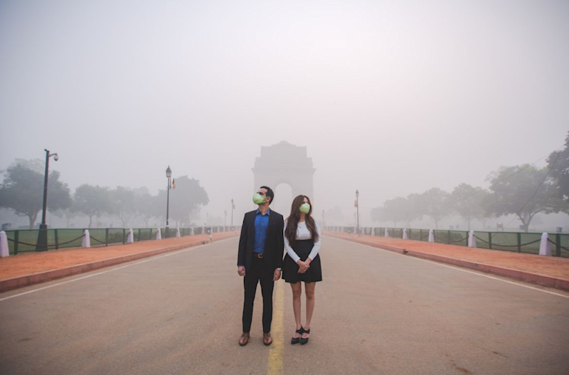 The shoot has an eerie post-apocalyptic feel to it. Photo: Banjara Studios