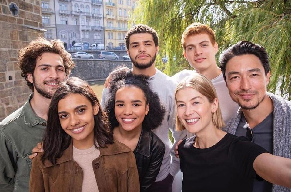 <p>Is it <em>time</em> for this show to come out yet?! We can hardly wait for Rosamund Pike's new series, based on Robert Jordan's fantasy novels. <em>Premieres in Nov. 19 on Amazon Prime Video.</em> </p>