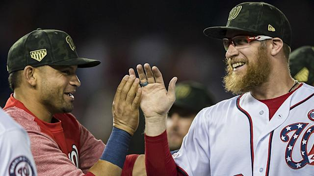 The Nationals' closer powered through the Cubs manager's ingenious attempt to disrupt him.